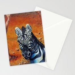 Berny the Zebra Stationery Cards