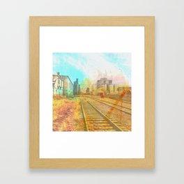 Hiawatha Spur Line Framed Art Print