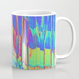 Iridescent Cosmic Rays Pop Art Coffee Mug