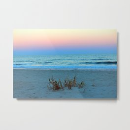 Seaside Sunset Metal Print