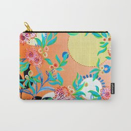 Sunset Gums - Abstract Floral Carry-All Pouch