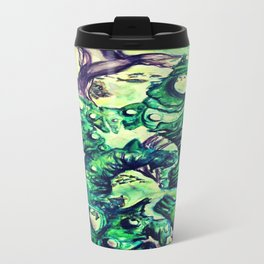 Under the Sea Watercolor Painting Travel Mug