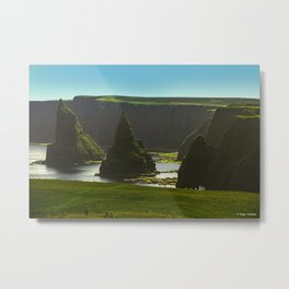 Sea Stacks at Duncansby Head Metal Print