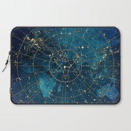 Star Map :: City Lights Laptop Sleeve