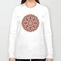 quilt Long Sleeve T-shirts featuring Firework Quilt by Little Things Studio