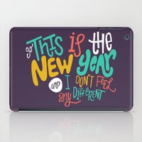 new year iPad Cases featuring New Year by Chelsea Herrick