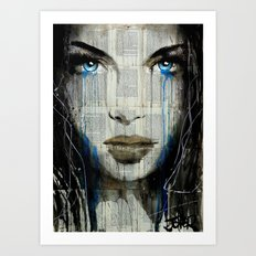 BLUE COAST Art Print