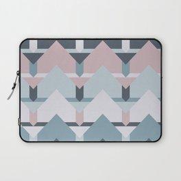 Scandi Waves #society6 #scandi #pattern Laptop Sleeve