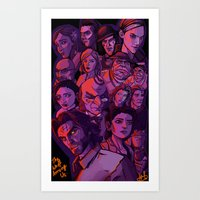the Wolf Among Us  Art Print