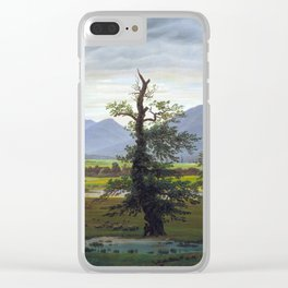Village Landscape in Morning Light (The Lone Tree), 1822 Clear iPhone Case