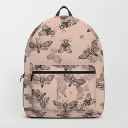 Moths and marble Backpack