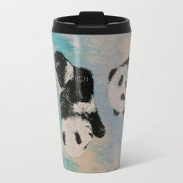 Panda Karate Travel Mug