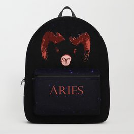 Aries - Fire of the Ram Backpack