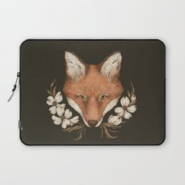The Fox and Dogwoods Laptop Sleeve