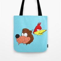 banjo Tote Bags featuring Banjo by Nate Galbraith