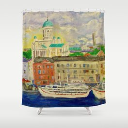 Impression Helsinki Shower Curtain