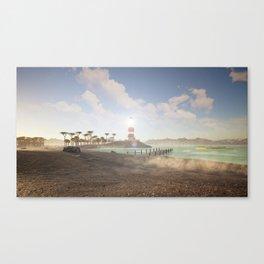 TheBeach Canvas Print