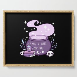 Witch Cauldron Serving Tray