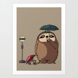 SlothTORO Art Print