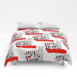MY LOVE WEIM Comforters
