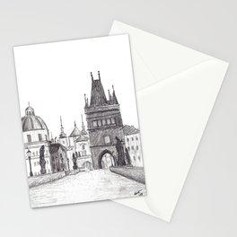 Charles Bridge in Prague, Czech Republic Stationery Cards
