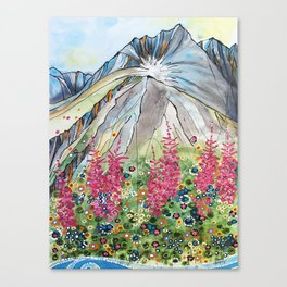 Mt Marathon Canvas Print