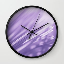 Ultra Violet Palm Tree Pattern| Trendy color of year 2018 Wall Clock