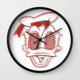 DUCKED UP Wall Clock