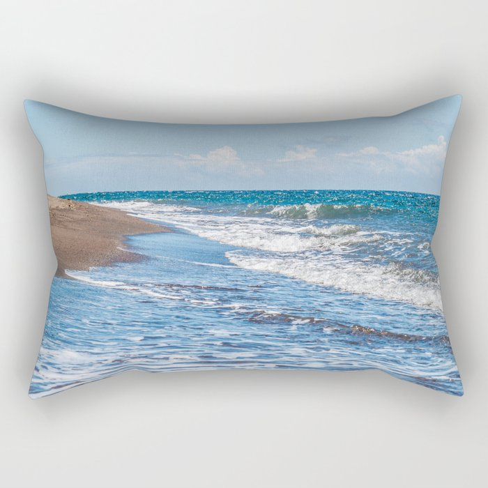 Dauin Meets the Sea Rectangular Pillow