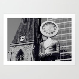 Time, Warped Art Print