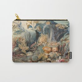 Ocean Life by James M Sommerville 1859 - Reproduction from original under CC0 Carry-All Pouch
