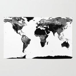 Classroom decor rugs society6 world map black white rug gumiabroncs Images