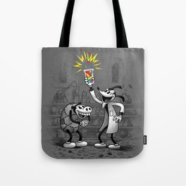 Invention of Colour Tote Bag