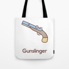 Cute Dungeons and Dragons Gunslinger class Tote Bag