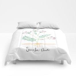 Siembra Amor Comforters