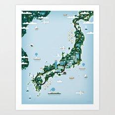GOOD TOYS JAPAN Art Print