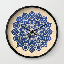 ókshirahm sky mandala Wall Clock