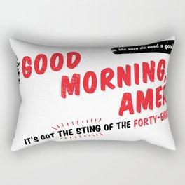Good Morning, America! Rectangular Pillow