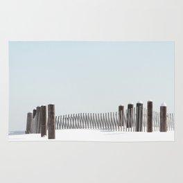 Linear Winter Rug