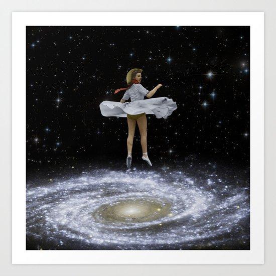 Everybody, Just Swirl! Art Print