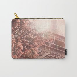 Pink Eiffel Tower in the Sun Carry-All Pouch