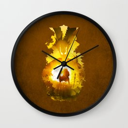 Dragon Emperor Wall Clock