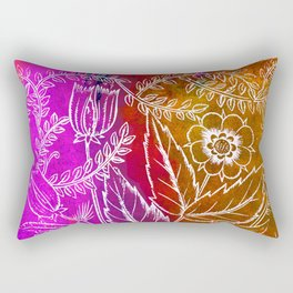 Into the artifice of eternity Rectangular Pillow