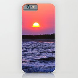 Colorful Cape May Sunset iPhone Case