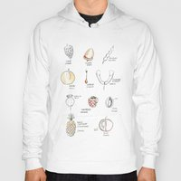 fruits Hoodies featuring Fruits by Anne F. Preaux