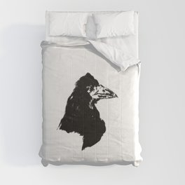 Edouard Manet - The raven by Poe 6 Comforters