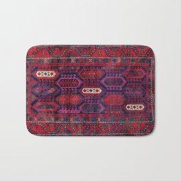 Timuri Herat  Antique Afghanistan Tribal Rug Print Bath Mat