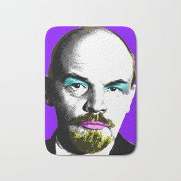 Ooh Mr Lenin - Purple Bath Mat