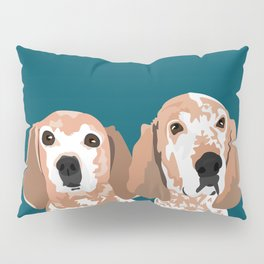 Molly and  Elwood Pillow Sham