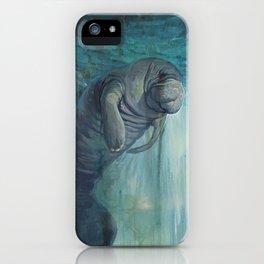 Undead Manatee iPhone Case
